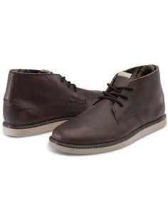 Volcom Men's Del Mesa Chukka Boots - Hide Brown