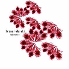 Ivana Helsinki A/W Collection Velvet Lake Helsinki, Velvet, Logo, My Favorite Things, Abstract, Artwork, Collection, Design, Summary