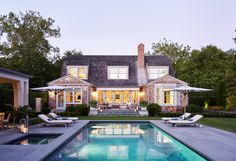 Residence on Egypt Lane - Sawyer | Berson Swiming Pool, Outdoor Spaces, Outdoor Decor, Dream Pools, Pool Houses, Landscape Architecture, The Hamptons, Egypt, Beach House