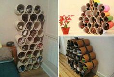 DIY PVC Pipe Shoe Rack Tutorial