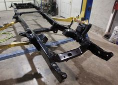 Complete Frame off Restomod. Possibly Boxing in the Frame. Sandblast and powder coat.