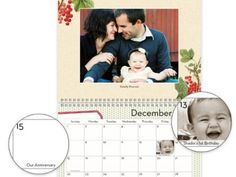 Personalized Calendars – With all the grandkids popping out, Grandparents need a way of keeping track of all the birthdays and other important dates. Gather head shots of family members and insert the picture on the square of their birthdate. Also, include couples pictures for anniversaries. #shepicks gifts for grandparents #giftidea