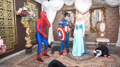 frozen elsa dating spiderman