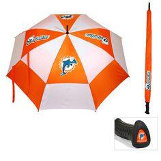 Miami Dolphins NFL 62 double canopy umbrella