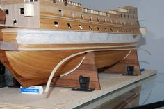 The Construction Of The San Felipe Ballustrading And Side Rails Model Ship Building, Hms Victory, Decorative Mouldings, Model Ships, Plumbing, Father, Construction, Collections, San Juan