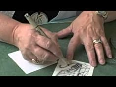 Zentangle Master Class Part A  by:  Suzanne McNeill