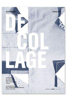 Natasha Jen dévoile des affiches de mode  / Grille d'après les dessins préparatoires de Giberson / étapes: design & culture visuelle
