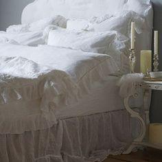 Bella Notte Linens Linen Whisper Pillowcase Quick Ship Ships Free #bellanotte #bellanottestyle #bellanotteliving #bellanottebedding #bellanottebaby #bellanottefabric #lavenderfields #bellanottelinen