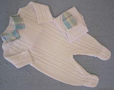 Macacão + Body + Calça Branco *RN