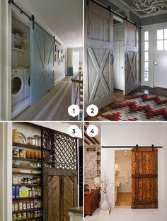 Loft Ideas:  7 Beautiful Barn Doors