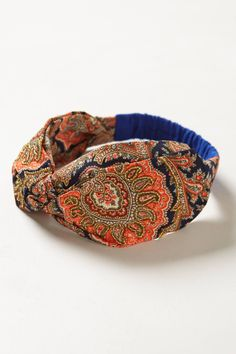 Beaded Trondheim Turban Headband - anthropologie.com