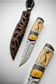 Work from 2012 | André Andersson Custom Knives