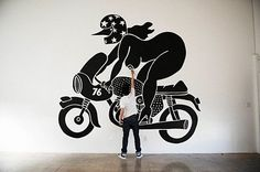 If you're a fan of playful and ironic cartoon-ish characters, then there's an exhibition you will like. Kunsthal Rotterdam will host Pieter Janssen, better known as Piet Parra. Rotterdam, Logos Vintage, Inspiration Art, Arte Popular, Dutch Artists, Art Design, Graphic Design Illustration, Urban Art, Art Images