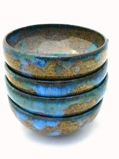 4 dipping dishes 0 made to order by JDWolfePottery on Etsy, $20.00