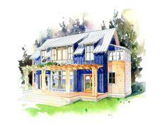 Craftsman Front Elevation Plan #479-4 - Houseplans.com