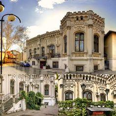 Pe strada Dionisie Lupu, la numarul 46, se ridică impunătoare o casă în stil neogotic, astăzi numită Casa Universitarilor, cunoscută și sub numele de Casa Librecht.  A fost construită în jurul anului 1860 de bancherul Cezar Librecht, om de încredere al domnitorului A.I Cuza și subiect al primului caz de corupție din țara noastră. Creneluri stilizate la exterior, specifice stilului neogotic, interioarele lambrisate şi decorate, definesc aceasta casa spectaculoasă. Romania Travel, Gothic House, Beautiful Stories, Bucharest, Mansions, House Styles, Home Decor, Houses, Decoration Home