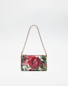 137dfc25e6 MINI BAG IN PRINTED RESINATED FABRIC Dolce Gabbana Online