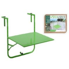 PATIO BALCONY WALL HANGING TABLE (GREEN)