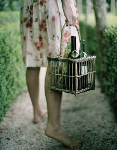 {<3} wine cage basket. its a secret