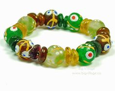 Our jewellery features ethically sourced materials including beads from many countries in Africa. Stretch Bracelets, Beaded Bracelets, Recycled Glass, Fair Trade, Beads, Big, Jewelry, Bangle Bracelets, Beading