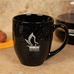 Hartford Hawks 16oz. Speckled Bistro Coffee Mug - Black - $12.99
