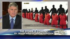 Rev. Graham on Christian Persecution: 'We Are Losing Our Religious Freedom'.  This guy is flakier than my breakfast cereal.
