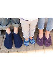 Knit - Vintage Family Trio Knit Slippers - #AK00731