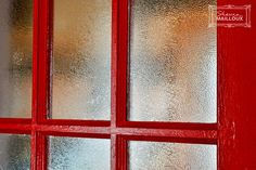 Vintage-Red Kitchen Door
