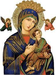 A la Virgen Santísima Virgen del Perpetuo Socorro Oración ¡Madre mía, Socorre a mis hijos!, que está palabra sea el grito de mi corazón desde la aurora. ¡Oh, María que tu bendición l…
