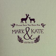 customizable save the date design by Sarah Carter carter-creative.ca & lovelovemedo.ca