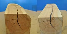Repair cracked wood for woodworking projects!  http://instructables.com/id/Repairing-Split-Wood/