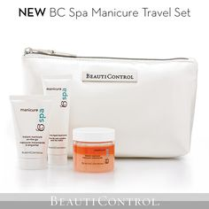 #BeautiControl's BC Spa Manicure is now available in travel-friendly sizes! #Manicure #Travel