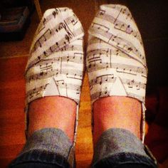 Music shoes- AMAAAAZING!!!!!!!!!