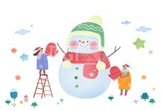 PAI118, PAI118b, 에프지아이, 따뜻한세상, 사람, 캐릭터, 오브젝트, 겨울, 사회복지, 복지, 나눔, 사랑, 행복, 눈사람, 남자, 여자, 2인, 따뜻한, 일러스트, illust, illustration #유토이미지 #프리진 #utoimage #freegine 19486959