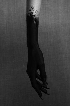 Black arm.