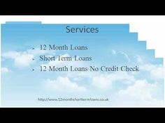 12 month short term loans are available for every citizen of the UK who are in urgent need of cash help. We arrange short term loans and 12 month loans no credit check for all kinds of borrowers. Apply with us today. http://www.12monthshorttermloans.co.uk