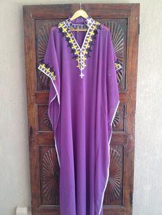 Caftan Long kaftan tunic dress maternity dress by ArabianThreads, $180.00