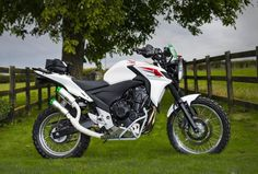 This Company Will Turn Your Honda CB500X Into The Adventure Bike It Was Meant To Be