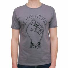 T-Shirt Fist Grey by R3lov