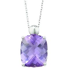 London Road Jewellery Bloomsbury White Gold Rose Amethyst Pendant ($430) ❤ liked on Polyvore featuring jewelry, pendants, london road, white gold amethyst pendant, amethyst jewelry, charm pendant and pendant jewelry