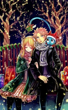 Fairy tail Lucy y Natsu