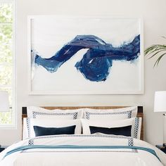 for end of hallway, Paint Swirl Print | Williams-Sonoma
