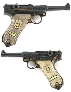 Ornate DWM 1920 Commercial Model Luger Pistol.