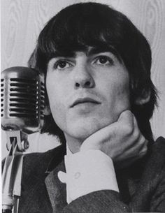Who doesn't love the distinguished-like George Harrison?