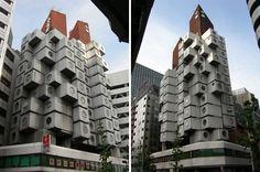 Картинки по запросу кисё курокава башня накагин в токио