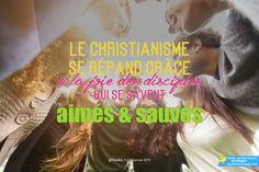 Le christianisme se répand grâce à la joie des disciples qui se savent aimés et sauvés.