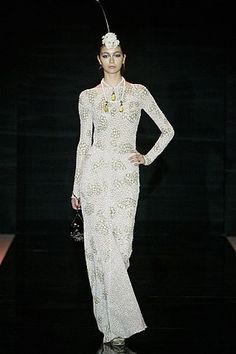 Armani privé collection, fall 2005 // as seen on Emma Roberts Attending the 2017 Vanity Fair Oscar Party - February 26, 2017
