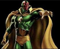 """The Vision: The robot Ultron is the creator of the Vision, a type of android he calls a """"synthezoid"""".  The Wasp is the first to encounter the synthezoid, and describes it as a """"vision"""" while trying to escape. Adopting the name, the Vision is convinced by the Avengers to turn against Ultron. After learning how Ultron created him, using the brain patterns of then-deceased Simon Williams (Wonder Man), the Vision becomes a member of the"""