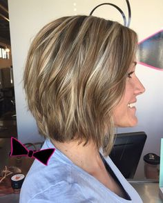Short and sassy for this #SiggyFan! Color, cut, & style by @mkburt #maconGA…