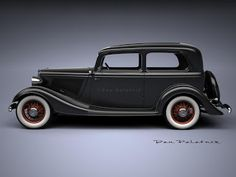 A Garagem Digital de Dan Palatnik   The Digital Garage Project: 1933 Fords